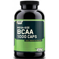 Аминокислоты Optimum BCAA 1000, 400 капсул, фото 1