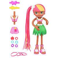 Кукла-конструктор Бетти Спагетти Зоуи в летнем наряде / Betty Spaghetty Doll Tropical Holiday Zoey