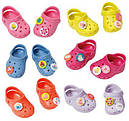 Обувь для кукол Беби Борн сандали кроксы розовые Baby Born Zapf Creation 822067, фото 3