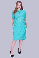 Платье - рубашка. Размер 60 Код 584. Хмельницкий, фото 1