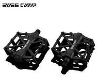 Професійні педалі для велосипеда Basecamp BC671 надміцні чорні