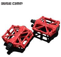 Професійні педалі для велосипеда Basecamp BC671 надміцні червоні