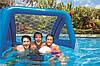 Intex 58507 Надувные ворота для бассейна+мяч 140-89-81 см - Фото