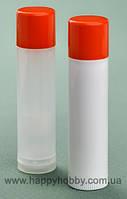 Тюбики для помады, бальзама для губ, оранжевая крышка