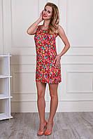 Стильное летнее женское платье из микро-масла