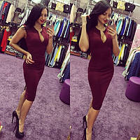 Платье женское Виктория марсала , платья интернет магазин