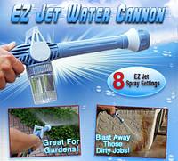 Насадка на шланг Ez Jet Water Cannon – необходимая вещь в хозяйстве