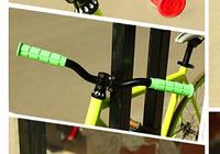 Велосипедные ручки, грипсы. Цвет салатный
