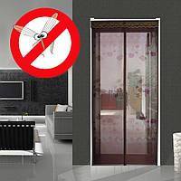 Антимоскитная дверная сетка на магнитах