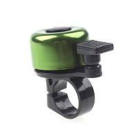 Звонок для велосипеда (велозвонок) Зелёный