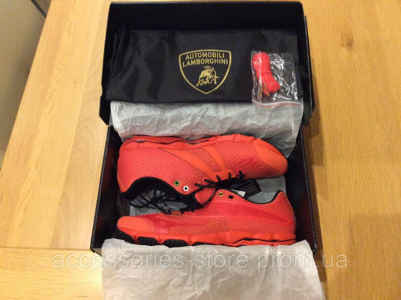 Кроссовки Automobili Lamborghini Mizuno Wave Running Shoes Boxed, RED