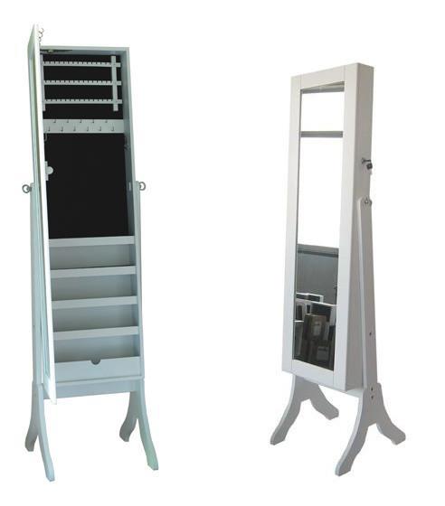 Зеркало с секцией для хранения аксессуаров Handy-Home DA MDJ05