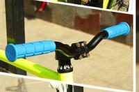 Велосипедные ручки, грипсы. Цвет голубой