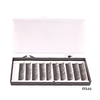 Ресницы шелковые (в двойной коробке - пласт./карт., 10 мм) - EYS-02,