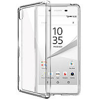 Чехол силиконовый Epik для Sony Xperia Z5 Premium Dual E6883 прозрачный, фото 1