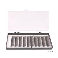 Ресницы шелковые (в двойной коробке - пласт./карт., 12 мм) - EYS-03,