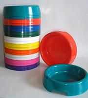 Миска для кошек и собак пластик