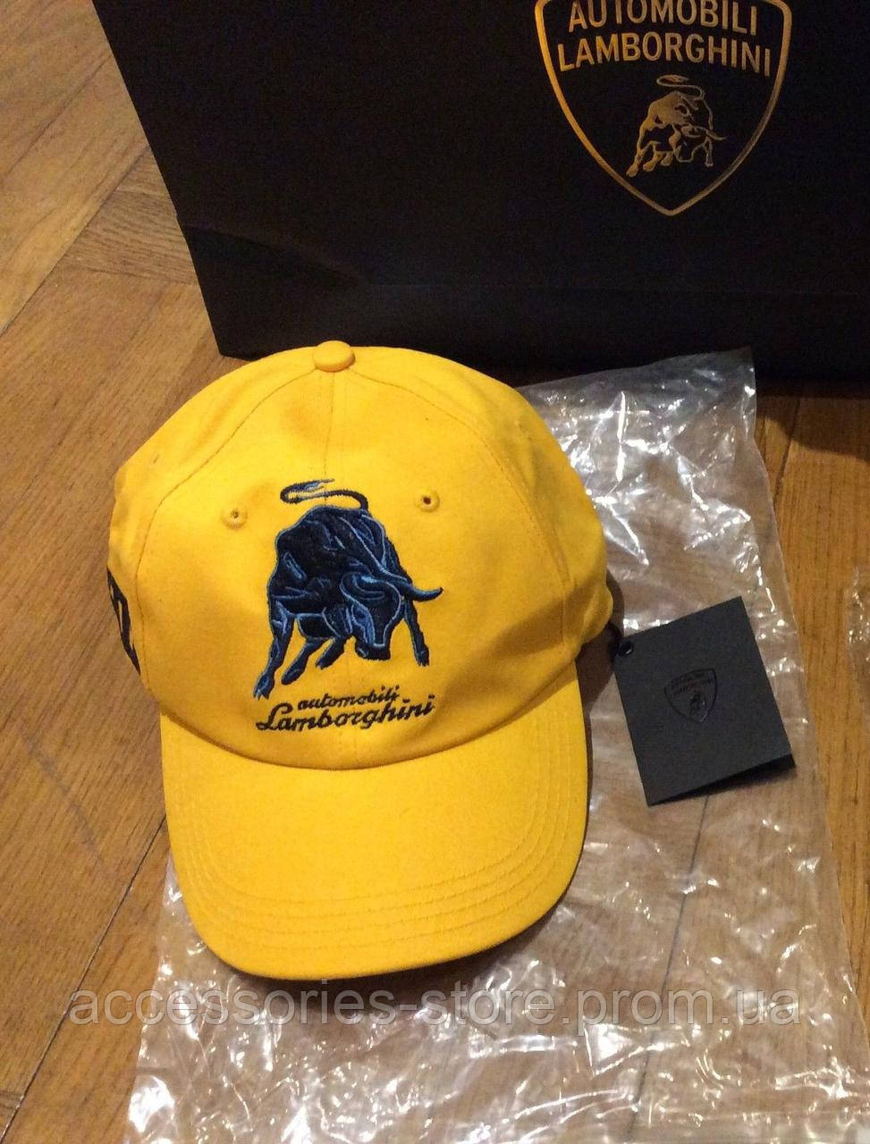 Бейсболка Lamborghini Bull LXIII cap, Yellow