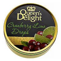 Леденцы Queen's Delight Клюква и лайм, 150 г  ТМ: Queen's Delight