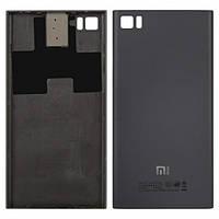 Задняя крышка для Xiaomi Mi3 TD-SCDMA/GSM серебристая Оригинал