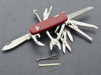 Многофункциональный нож EGO A01-6-16 Армейский на подарок Мужчине. Туристический прибор
