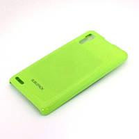 Чехол для LENOVO P780, пластиковый, Buble Pack, Лайм /case/кейс /леново