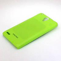 Чехол-накладка для LENOVO S890, пластиковый, Buble Pack, Лайм /case/кейс /леново