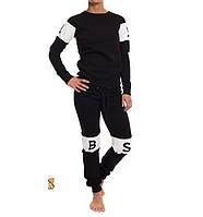 Спортивный костюм женский Бритни черный , спортивная одежда