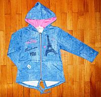 Детская кофта для девочек Париж 104 рр, фото 1