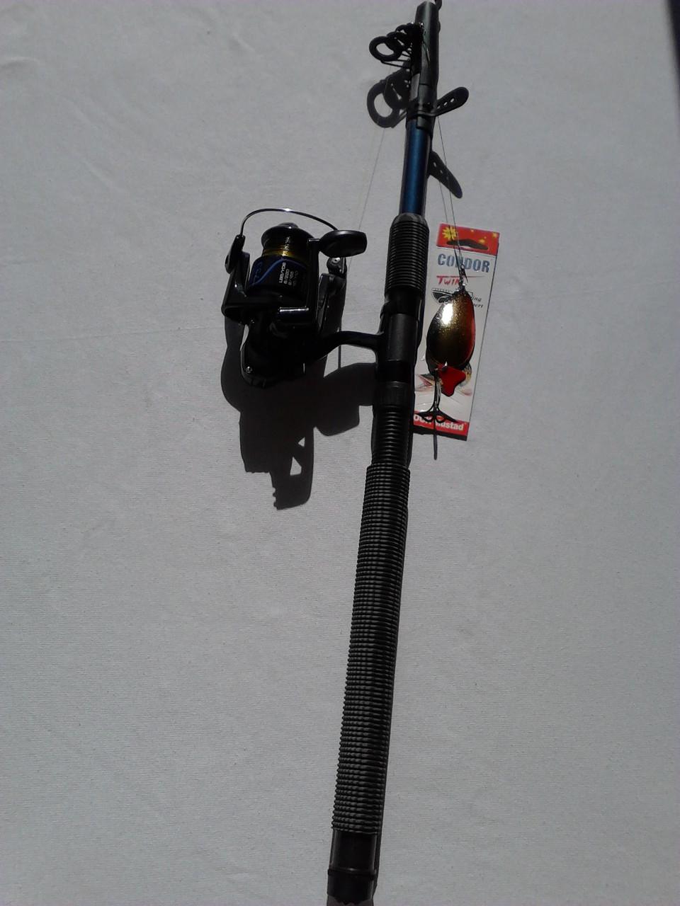 Комплект спиннинг Kalipso 2.40m + Катушка Line Winder FS 734 4bb