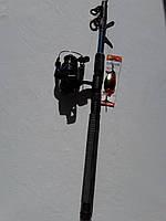 Комплект спиннинг Kalipso 2.40m + Катушка Line Winder FS 734 4bb, фото 1