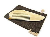 Расческа кость натуральная для волос