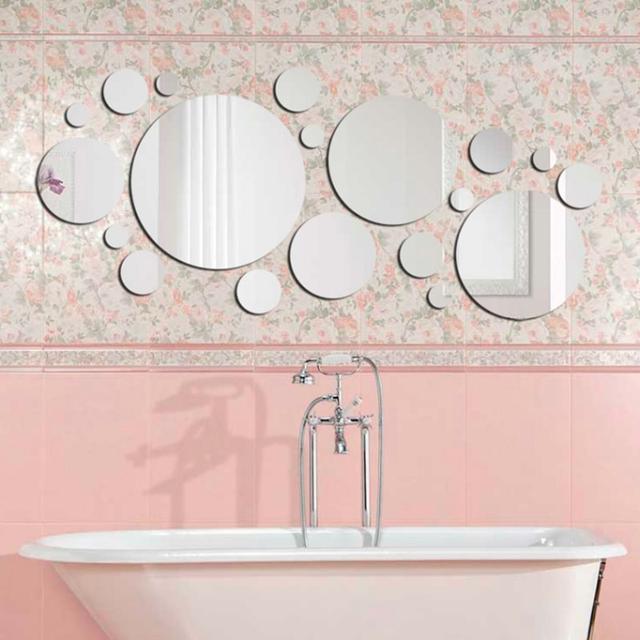 Зеркало из акрила в ванную