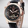 Механические часы с автоподзаводом Jaragar (black-bronze) - гарантия 12 месяцев - Фото