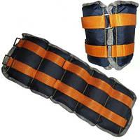 Спортивные утяжелители для рук и ног пара от 1 до 6 кг