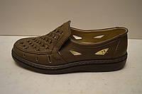 Туфли мужские Tigina 5013 лава (темно-коричневый)