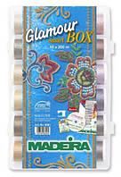 8061 Набор ниток Glamour№12 металлик (18x200м)