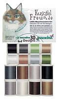 8200 Набор ниток Lana Starter Kit (8x200м Lana, 8x200м Cotona, 5 игл, диск 30 дизайнов)