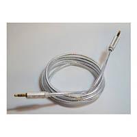 AUX Аудио-кабель 3.5 jack/M/M 1,5м цветной силиконовый!Акция