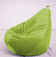 Салатовое кресло мешок груша
