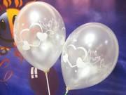 Свадебные перламутровые шарики 100 штук 30 см