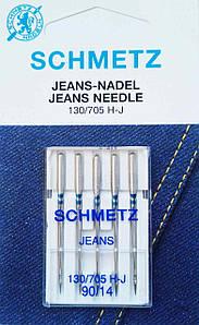 Иглы для Джинса Schmetz №90