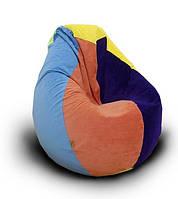 Бескаркасное кресло с шариками