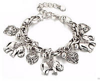 Женский браслет Primo Pulseira Elephant - Silver