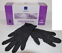 Перчатки нитриловые неопудркнные Abena черные 200 шт.