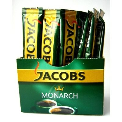 Кофе JACOBS Monarch растворимый 2 гр. стик (20 штук)
