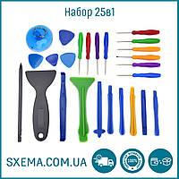 Набор инструментов YaXun 25в1 для ремонта телефонов, планшетов.