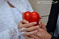 Декор для фотосессии - сердце из двух половинок