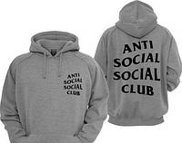 """Толстовка с принтом """"Antisocial Social Club"""""""
