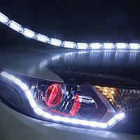 LED DRL с бегущим поворотником AUDI. 35W